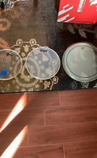 Evans, Remo and Century Used Drum Tom Heads 12�, 13�, 16�