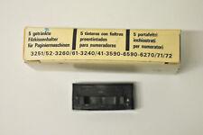 Recharge SIGN NOIR d'Encrage Encre Tampon Encreur Numéroteur 3251 3252 3260 3261