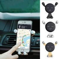 Eg _ Fm- da Auto Gravity Bocchetta D'Aria Supporto per Telefono IPHONE Samsung