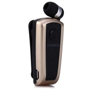 FineBlue F910 Vibrating Alert Clip Wireless Bluetooth Headsets Business Earphone