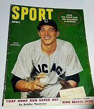 New listing 1952 Sport Magazine: CHICO CARRASQUEL Chicago White Sox