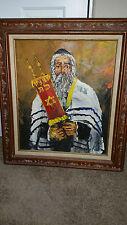 Morris Katz rabbi painting