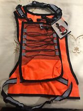 NEW WITH TAGS~ ZACK & ZOEY~ ORANGE REFLECTIVE SAFETY VEST FOR DOGS~ SIZE LARGE