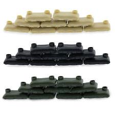 Custom Military Army Sandbags Kit Compatible for Lego Set Minifigure Accessories