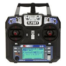 FS-i6 AFHDS 2A 2.4GHz 6CH Remote Control for Heli Glider +FS-iA6 Receiver W4A1