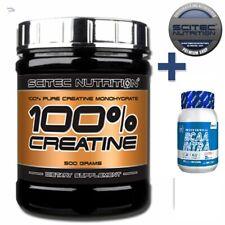 100% Pure Creatin Monohydrat 1000g scitec Nutrition 1kg + BCAA polvo 500 G