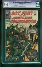 SGT. FURY AND HIS HOWLING COMMANDOS #36 1966-CGC GRADED 9.4 - 1060692003