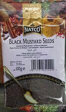 BLACK MUSTARD SEEDS (RAI) - 100g - NATCO- BEST  QUALITY