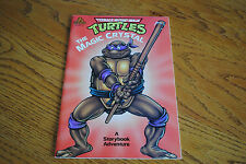 Teenage Mutant Ninja Turtles Vintage 1990 Book The Magic Crystal Donatello TMNT