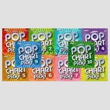 Zoom Karaoke Discs Pop Chart Picks Vol 1 2 3 4 5 6 7 8 9 & 10 CDG Hits Pack Set