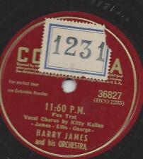 KITTY Kallen canta, con orchestra Harry James: 11:60 P.M.