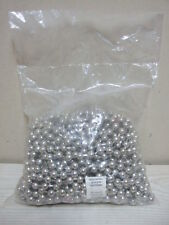 50 FOOT LONG BEAD BEADS METAL IRON SILVER CHAIN SHINING CURTAIN WHOLESALE LOT