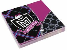MONSTER HIGH PARTY SUPPLIES LUNCH NAPKINS PACK OF 16