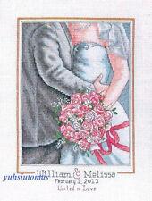 Dimensions Cross Stitch Kit - Embrace Wedding Record