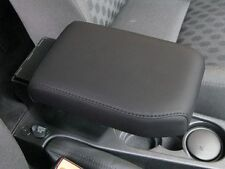 LAND ROVER FREELANDER 2 ARMREST / CUBBY BOX BLACK ECO LEATHER LHD