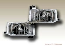 FIT FOR 87 88 89 90 91-95 Hardbody Pathfinder Headlights Clear