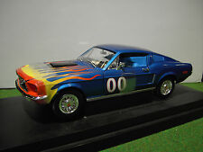 FORD MUSTANG COOTER'S FILM DUKES HAZZARD au 1/18 JOHNNY LIGHTNING voiture 21957P