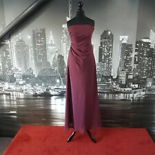 Dessy Dress (Burgundy-Size 6) Prom, Cruise, Ball, Bridesmaid, Party, RRP £200+