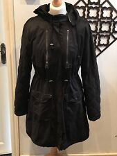 Ladies Zara Parka Style Coat Med