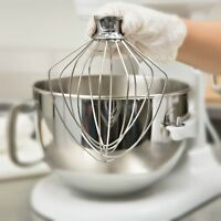 KitchenAid 6 Wire Whip Stand Mixer Whisk KN256WW Fits Bowl Lift KV25G, KP26M1X