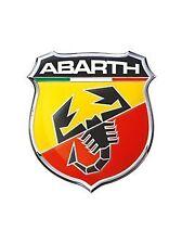 Abarth 21533 Stickers Aufkleber 3d SCUDETTO