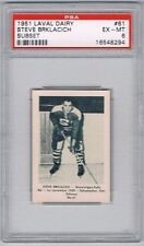 1952 Laval Dairy Subset Hockey Card Shawinigan Falls S. Brklacich Graded PSA 6