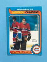 Ken Dryden 1979-80 NICE O-Pee-Chee NHL Hockey Card #150  SEE PHOTOS