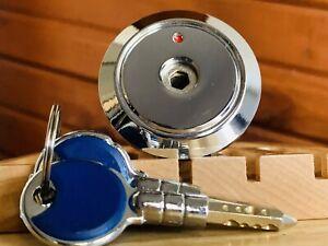 Unusual Kaba Style Security Lock Cykinder w/ 2 Keys Locksport
