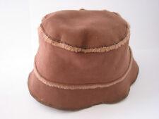 BABY GIRLS WINTER BROWN GAP HAT 12-24 MONTHS ONLY £2.99