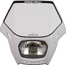 Universal White Headlight Race Tech Matrix Enduro Motorbike MASKBN00007