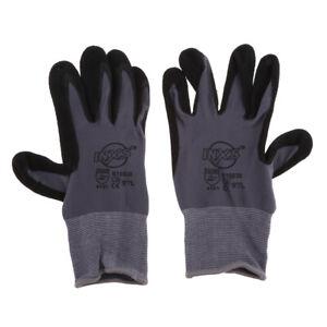 1 Paar Profi Schweißhandschuhe Lederhandschuhe Hitzebeständige Feuerhandschuhe
