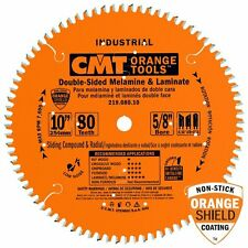 CMT 219.080.10 Industrial Compound Miter & Radial Saw Blade, 10-Inch x 80 teeth