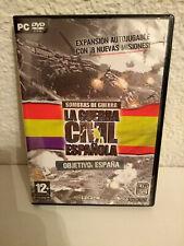 Sombras de Guerra: La Guerra Civil Española: Objetivo España. Para PC.