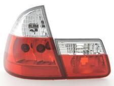 Coppia Fari Fanali Posteriori Tuning BMW serie 3 Touring (E46) 99-02, bianco/ros