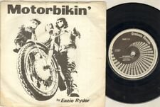 "EAZIE RYDER Motorbikin'  7"" Ps, Orig 1979 Nwobhm Single, B/W City Lights, Grad 1"