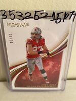 JOEY BOSA 2020 PANINI IMMACULTE OHIO STATE CARD #D 02/10 CHARGERS