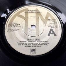 LESLEY GORE Immortality UK 1975 A&M Vinyl SingleQUINCY JONES PRODUCTION