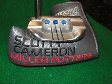 "scotty cameron titleist custom california fastback 34"" putter w / sc cover"