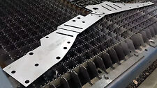 "NV Jeep Cherokee XJ Unibody/Front Stiffeners PAIR-3/16"" Steel Laser Cut in USA!"