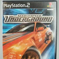 Need for Speed: Underground (Sony PlayStation 2, 2003) Cib Complete Ps2