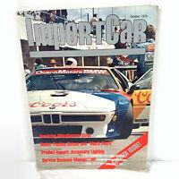 Import Car Magazine 1st Premier Issue October 1979 VGC