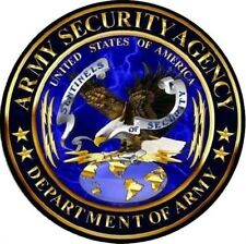 ARMY SECURITY AGENCY STICKER / DECAL