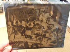 RARE 1919 Foy Family on FIRST Anheuser-Busch Bevo Victory Boat (1940's Negative)