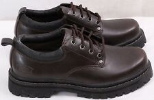 Skechers 7111 Alley Cats Casual Work Shoes Lace Up Plain Toe Oxford Men's US 7.5