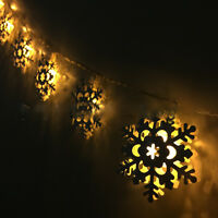 10/20/30/40/80 LED Battery Operated Fairy String Lights Xmas Party Wedding Decor