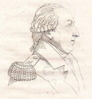 Portrait XIXe Louis V Joseph de Bourbon-Condé Prince du Sang 1821