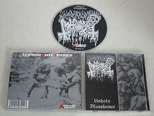 ABHORER/UNHOLY BLASPHEMER(XTREEM MUSIC XM 020 CD) CD ALBUM