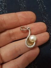 925 SILVER AND Pearl Pendant.