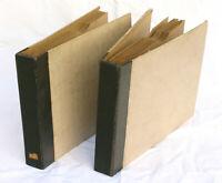 2 ORIG. PLATTENALBEN identisches Design;  á 10 Schellackplatten  25cm  AL136