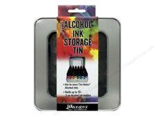 Tim Holtz Ranger ALCOHOL INK STORAGE TIN' Holds up to 30 (.5oz Ink Bottles)